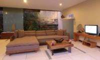 Lounge Area with TV - Villa Paya Paya - Seminyak, Bali