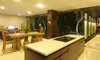 Living, Kitchen and Dining Area - Villa Paya Paya - Seminyak, Bali