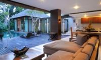 Living and Dining Area with Pool View - Villa Paya Paya - Seminyak, Bali