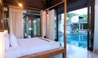 Bedroom with Pool View - Villa Paya Paya - Seminyak, Bali
