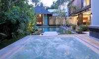 Pool Side Jacuzzi - Villa Paya Paya - Seminyak, Bali