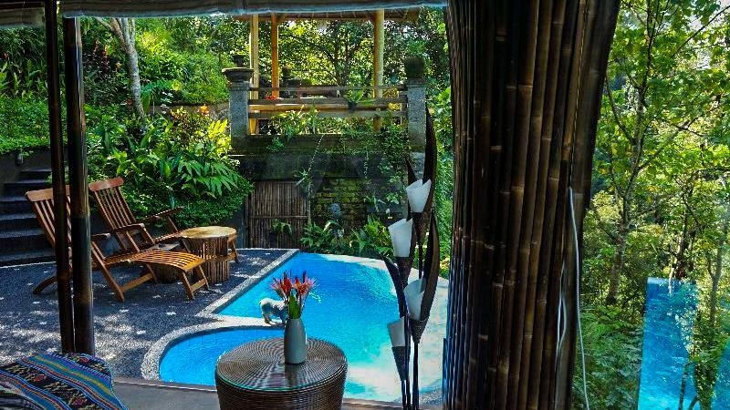 Pool Side - Villa Pererepan - Ubud, Bali