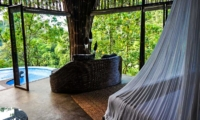 Bedroom with Pool View - Villa Pererepan - Ubud, Bali