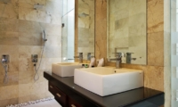 His and Hers Bathroom - Villa Portsea - Seminyak, Bali