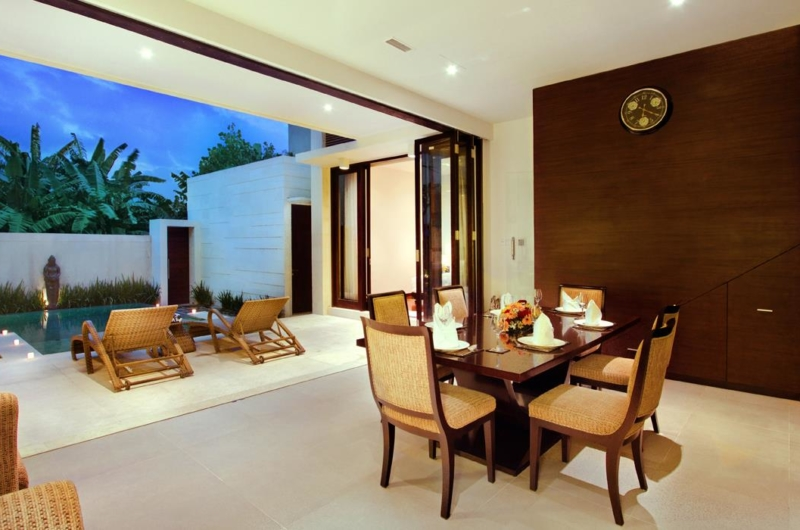Dining Area with Pool View - Villa Portsea - Seminyak, Bali