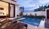 Pool Side Loungers - Villa Portsea - Seminyak, Bali