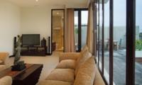 Lounge Area with TV - Villa Portsea - Seminyak, Bali