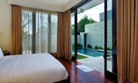 Bedroom with Pool View - Villa Portsea - Seminyak, Bali