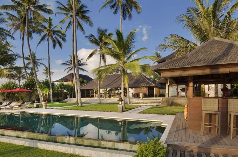 Gardens and Pool - Villa Pushpapuri - Sanur, Bali