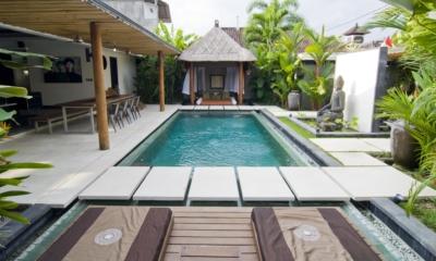 Pool Side - Villa Putih - Nusa Lembongan, Bali
