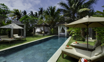 Gardens and Pool - Villa Raj - Sanur, Bali
