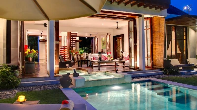 Pool Side - Villa Raj - Sanur, Bali
