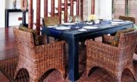 Indoor Dining Area - Villa Raj - Sanur, Bali