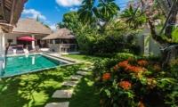 Gardens and Pool - Villa Rama - Seminyak, Bali