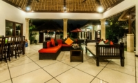 Living and Dining Area - Villa Rama - Seminyak, Bali