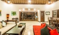 Indoor Living and Dining Area - Villa Rama - Seminyak, Bali