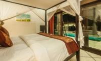 Bedroom with Pool View - Villa Rama - Seminyak, Bali