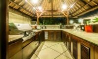 Outdoor Kitchen - Villa Rama - Seminyak, Bali