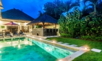 Outdoor Area at Night - Villa Rama - Seminyak, Bali