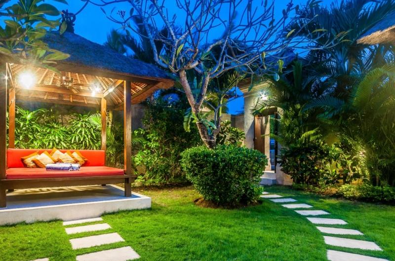 Pool Bale at Night - Villa Rama - Seminyak, Bali
