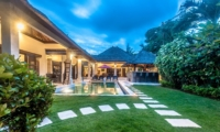 Outdoor View at Night - Villa Rama - Seminyak, Bali