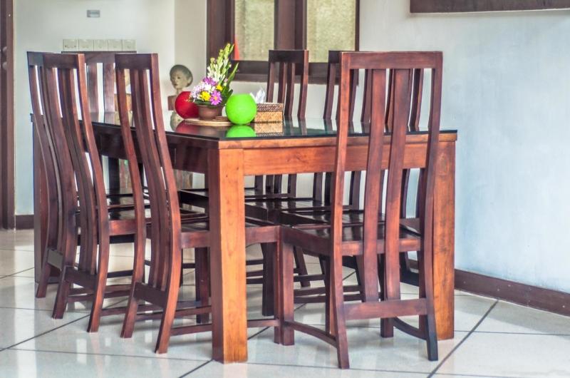 Indoor Dining Area - Villa Rama - Seminyak, Bali