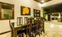 Dining Area with View - Villa Rama - Seminyak, Bali