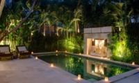 Night View - Villa Rama Sita - Seminyak, Bali