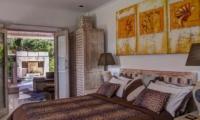 Bedroom with View - Villa Rama Sita - Seminyak, Bali