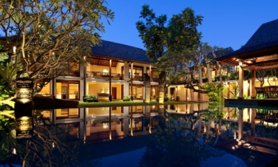 Swimming Pool at Night - Villa Ramadewa - Seminyak, Bali