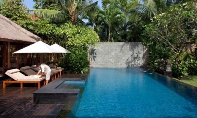 Pool Side Loungers - Villa Ramadewa - Seminyak, Bali