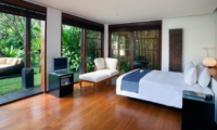 Bedroom with Outdoor View - Villa Ramadewa - Seminyak, Bali