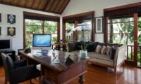 Lounge Area with TV - Villa Ramadewa - Seminyak, Bali