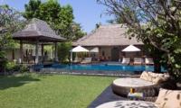 Pool Side Seating Area - Villa Ramadewa - Seminyak, Bali