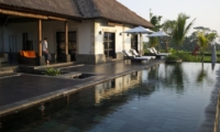 Pool Side - Villa Rumah Lotus - Ubud, Bali
