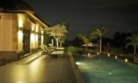 Night View - Villa Rumah Lotus - Ubud, Bali