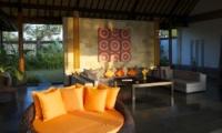 Indoor Living Area - Villa Rumah Lotus - Ubud, Bali