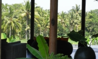 Living Area with View - Villa Rumah Lotus - Ubud, Bali
