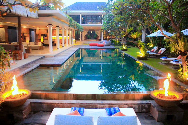 Pool Side - Villa Sally - Canggu, Bali