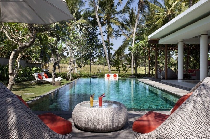 Pool Side Seating Area - Villa Sally - Canggu, Bali