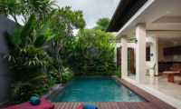 Pool Side Loungers - Villa Sally - Canggu, Bali