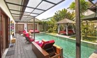 Pool Side - Villa Sam Seminyak - Seminyak, Bali