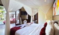 Bedroom with Pool View - Villa Sam Seminyak - Seminyak, Bali
