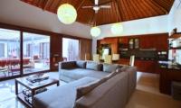 Living and Dining Area - Villa Sam Seminyak - Seminyak, Bali