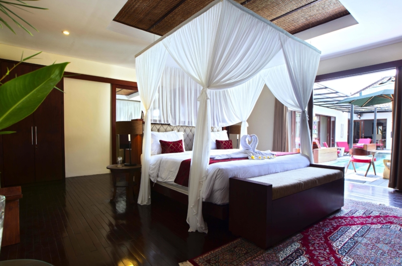 Bedroom with View - Villa Sam Seminyak - Seminyak, Bali