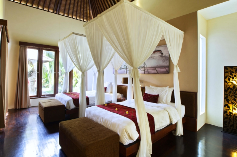 Bedroom with Twin Beds - Villa Sam Seminyak - Seminyak, Bali