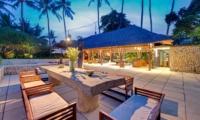 Outdoor Dining - Villa Samadhana - Sanur, Bali