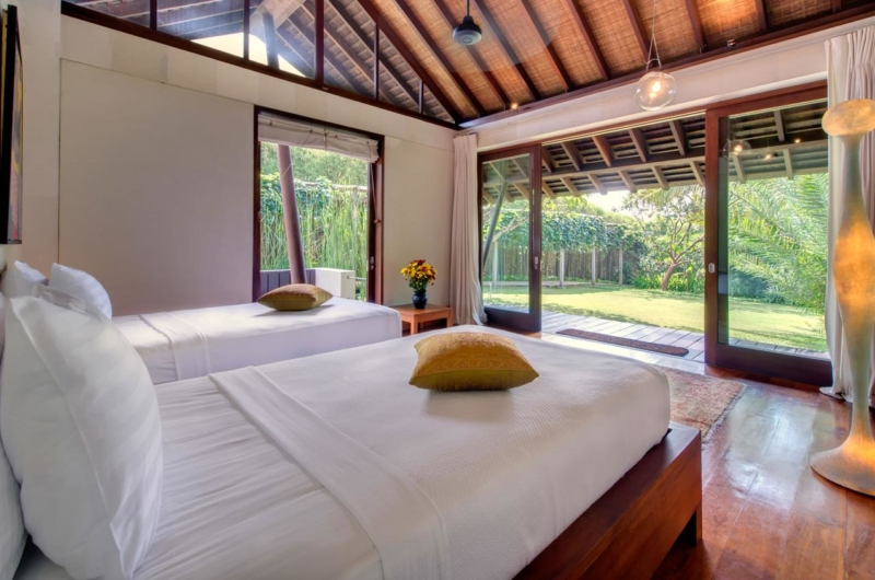 Twin Bedroom with View - Villa Samadhana - Sanur, Bali