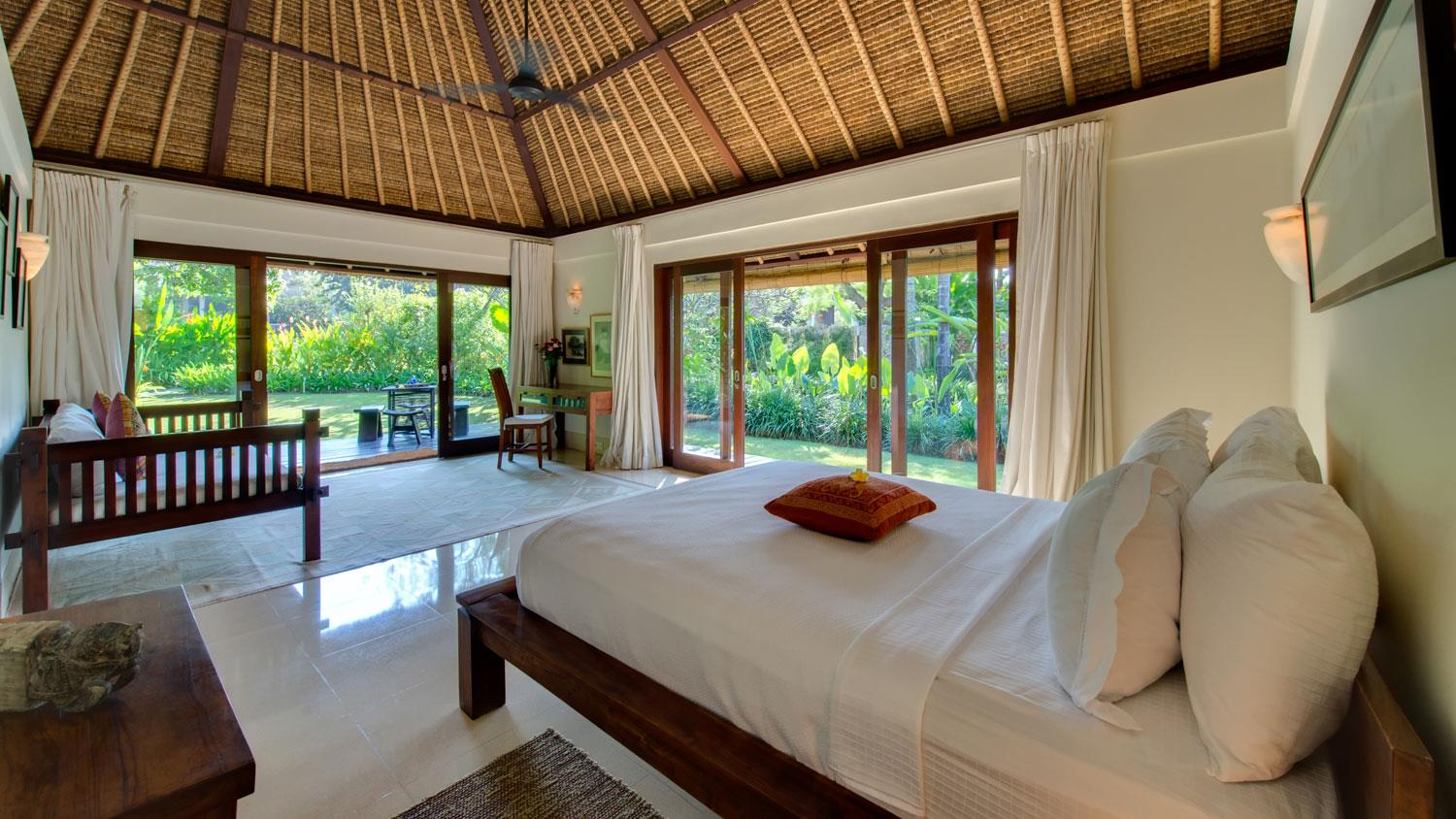 Bedroom with View - Villa Samadhana - Sanur, Bali
