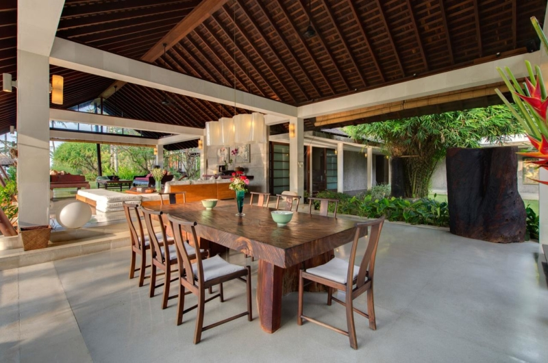 Dining Area with View - Villa Samadhana - Sanur, Bali
